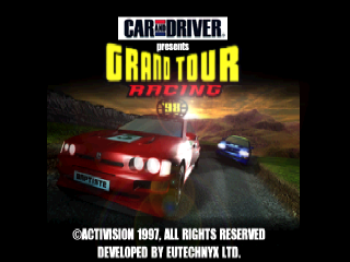 Grand Tour Racing '98 title screenshot