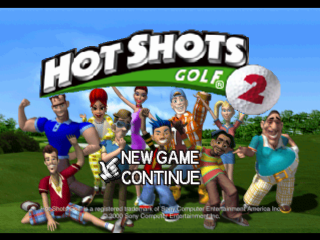 Hot Shots Golf 2 - Everybody's Golf 2 title screenshot