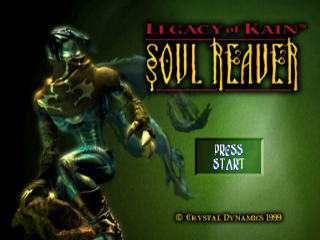 Legacy of Kain - Soul Reaver title screenshot