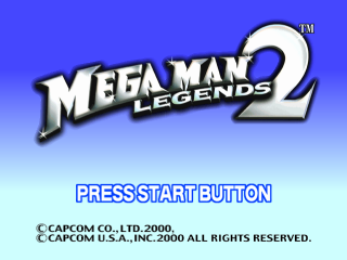 Mega Man Legends 2 title screenshot