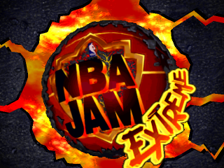 NBA Jam Extreme title screenshot