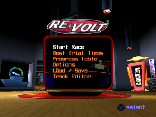 Re-Volt title screenshot
