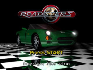 Roadsters title screenshot