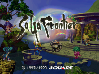 SaGa Frontier title screenshot