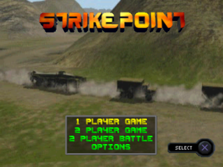 Strike Point title screenshot