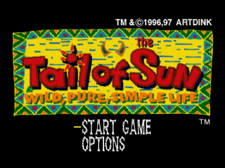 Tail of the Sun title screenshot