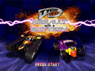 Tyco R-C - Assault with a Battery title screenshot