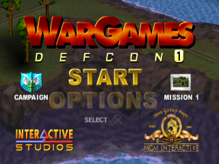 WarGames - Defcon 1 title screenshot