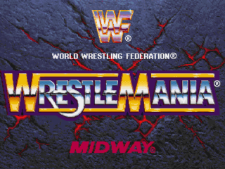 WWF WrestleMania - The Arcade Game title screenshot