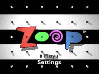 Zoop - America's Largest Killer of Time !  title screenshot