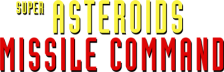 Super Asteroids & Missile Command logo