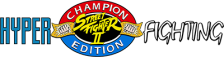 Street Fighter II': Hyper Fighting logo