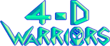 4-D Warriors logo