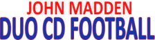John Madden Duo CD Football logo