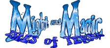 Might and Magic III - Isles of Terra logo