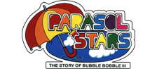 Parasol Stars - The Story of Bubble Bobble III logo