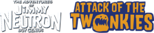 Adventures of Jimmy Neutron Boy Genius, The - Attack of the Twonkies logo