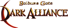 Baldur's Gate - Dark Alliance logo