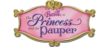 Barbie - The Princess and the Pauper logo