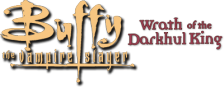 Buffy the Vampire Slayer - Wrath of the Darkhul King logo