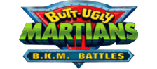 Butt-Ugly Martians - B.K.M. Battles logo