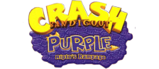Crash Bandicoot Purple - Ripto's Rampage logo