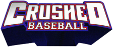 Crushed Baseball logo