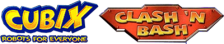 Cubix - Robots for Everyone - Clash 'N Bash logo
