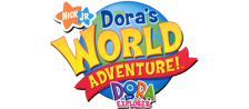Dora the Explorer - Dora's World Adventure! logo