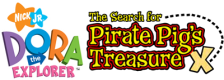 Dora the Explorer - The Search for the Pirate Pig's Treasure logo