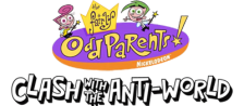 Fairly OddParents!, The - Clash with the Anti-World logo
