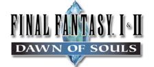 Final Fantasy I & II - Dawn of Souls logo