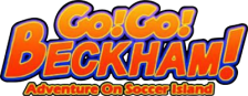 Go! Go! Beckham! - Adventure on Soccer Island logo