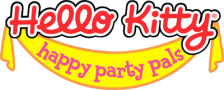 Hello Kitty - Happy Party Pals logo