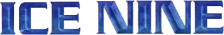 Ice Nine logo