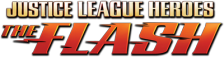 Justice League Heroes - The Flash logo