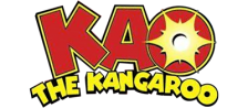Kao the Kangaroo logo