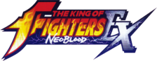 King of Fighters EX, The - NeoBlood logo