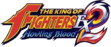 King of Fighters EX2, The - Howling Blood logo