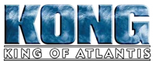 Kong - King of Atlantis logo