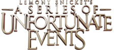 Lemony Snicket's A Series of Unfortunate Events logo