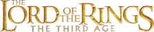 Lord of the Rings, The - The Third Age logo