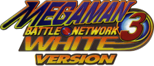 Mega Man Battle Network 3 - White Version logo