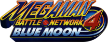 Mega Man Battle Network 4 - Blue Moon logo
