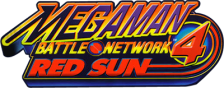 Mega Man Battle Network 4 - Red Sun logo