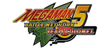 Mega Man Battle Network 5 - Team Colonel logo
