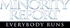 Minority Report - Everybody Runs logo