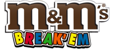 M&M's - Break 'em logo