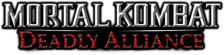 Mortal Kombat - Deadly Alliance logo