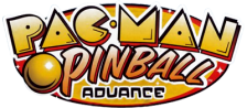 Pac-Man Pinball Advance logo